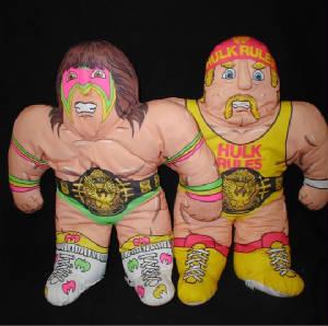 Hulk Hogan Doll