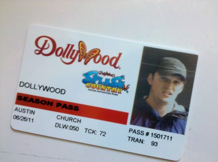 Dollywood season pass